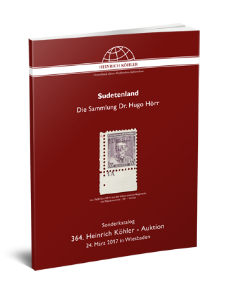 Sudetenland – The Dr. Hugo Hörr Collection