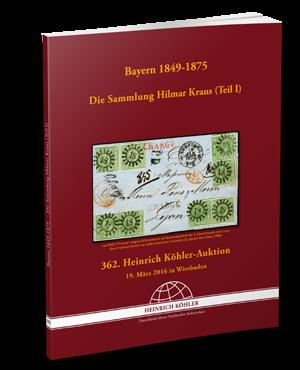 Bayern 1849 - 1875 - Die Sammlung Hilmar Kraus (Teil 1)