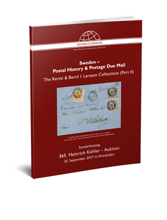 Sweden – Postal History & Postage Due Mail – The Kersti & Bertil I. Larsson Collections