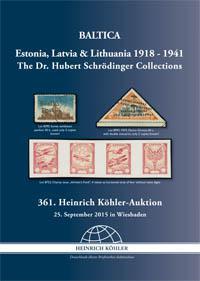 BALTICA Estland Lettland Litauen 1918-1941