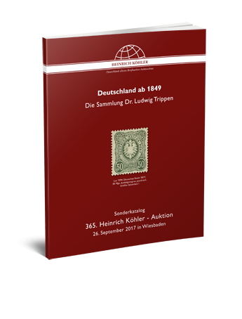 Germany from 1849 – The Dr. Ludwig Trippen Collection