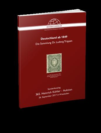 Deutschland ab 1849 – Die Sammlung Dr. Ludwig Trippen