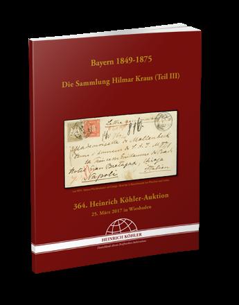Bavaria 1849-1875 – The Hilmar Kraus Collection (Part III)