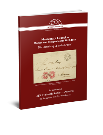 """Hanseatic City of Lübeck stamps and postal history 1815-1867 – The """"Buddenbrook"""" Collection"""
