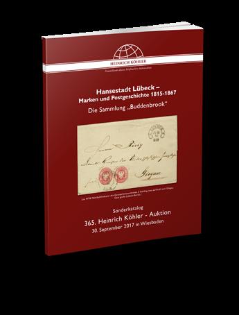"""Hansestadt Lübeck – Marken und Postgeschichte 1815-1867 – Die Sammlung """"Buddenbrook"""""""