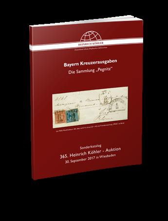 """Bayern Kreuzerausgaben – Die Sammlung """"Pegnitz"""""""