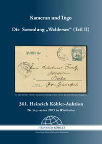 """Die Sammlung """"Waldersee"""" - Kamerun und Togo"""