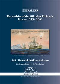 The Archive of the Gibraltar Philatelic Bureau 1993 - 2009