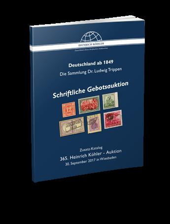 DEUTSCHLAND AB 1849 – Schriftliche Gebotsauktion