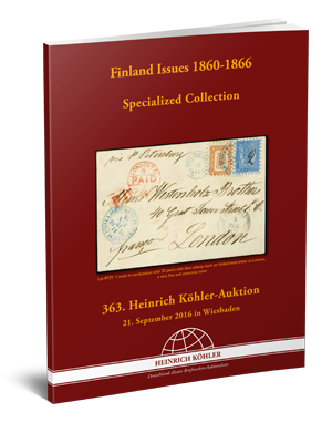 Finland Issues 1860-1866 Specialized Collection
